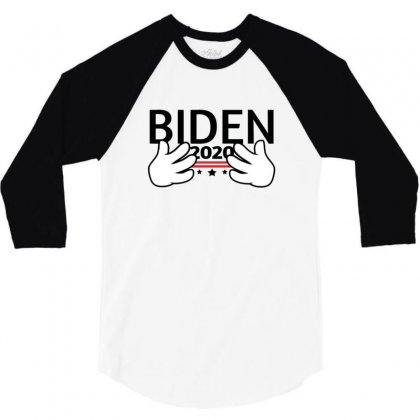 Joe Biden 2020 Campaign Political Satire 3/4 Sleeve Shirt Designed By Sr88