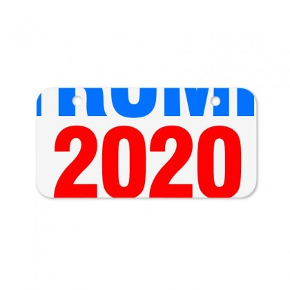Trump 2020 Bicycle License Plate Designed By Waroenk Design