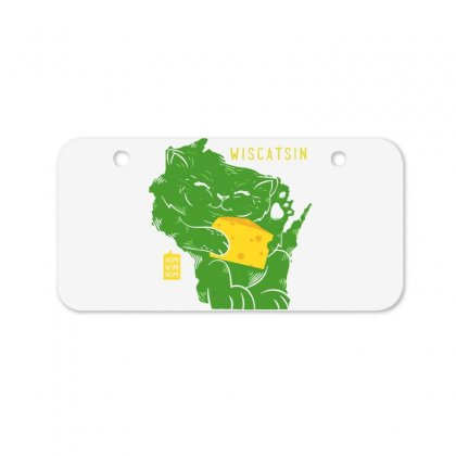 Wiscatsin Bicycle License Plate Designed By Dameart
