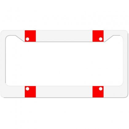 Line License Plate Frame Designed By Lagoon