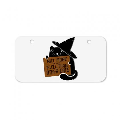 Witch Cat Deserves Love Bicycle License Plate Designed By Dameart