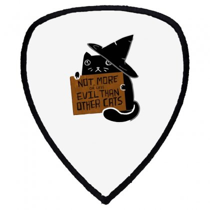Witch Cat Deserves Love Shield S Patch Designed By Dameart
