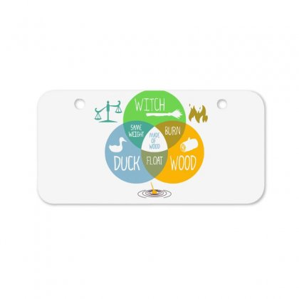 Witch Identification Bicycle License Plate Designed By Dameart