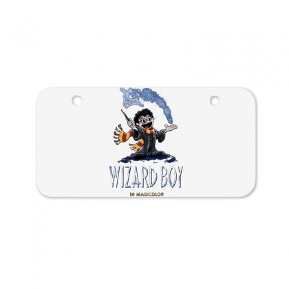 Wizard Boy Bicycle License Plate Designed By Dameart