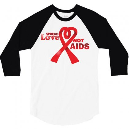 Aids 3/4 Sleeve Shirt Designed By Ca Si Kancil