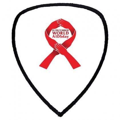 Aids World Day (care) Shield S Patch Designed By Ca Si Kancil