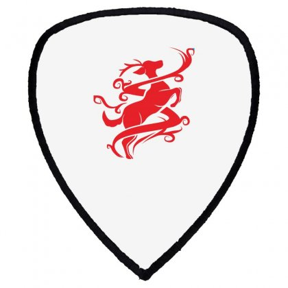 Deer Red Shield S Patch Designed By Ca Si Kancil