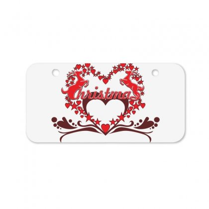 Deer Love Bicycle License Plate Designed By Ca Si Kancil
