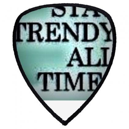 Stay Tuned In Life Shield S Patch Designed By Trendy Boy