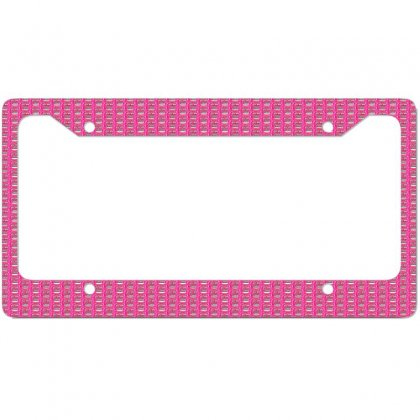 Cheating Your Wife With This One License Plate Frame Designed By Trendy Boy