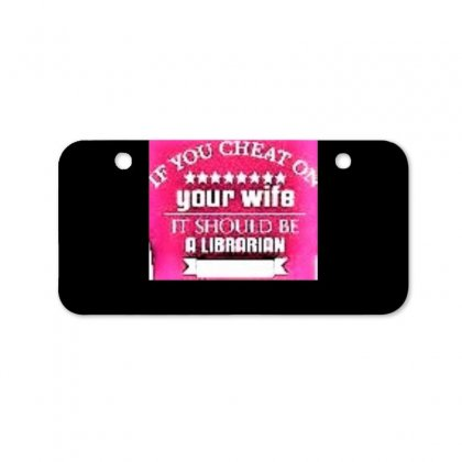 Cheating Your Wife With This One Bicycle License Plate Designed By Trendy Boy