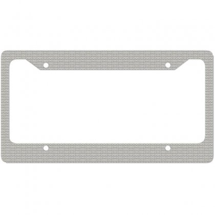 I Am A Night Party King License Plate Frame Designed By Trendy Boy
