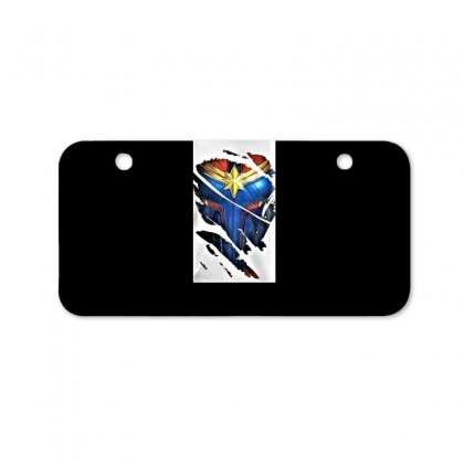 Marvel Captain Bicycle License Plate Designed By Trendy Boy