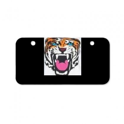 Roaring Tiger Bicycle License Plate Designed By Trendy Boy