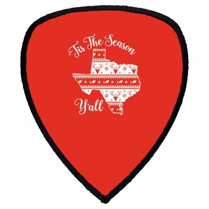'tis The Season Y'all Shield S Patch Designed By Honeysuckle