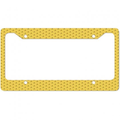 I Am Own Best Friend License Plate Frame Designed By Cuser2428