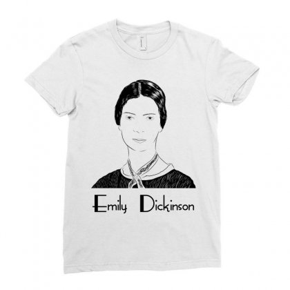 Emily Dickinson Ladies Fitted T-shirt Designed By Wizarts
