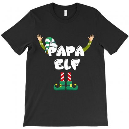 Papa Elf T-shirt Designed By Wizarts