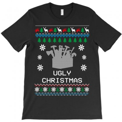 Ugly Christmas T-shirt Designed By Wizarts