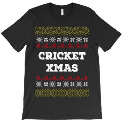Cricket Xmas T-shirt Designed By Wizarts