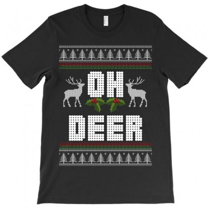 Oh Deer T-shirt Designed By Wizarts