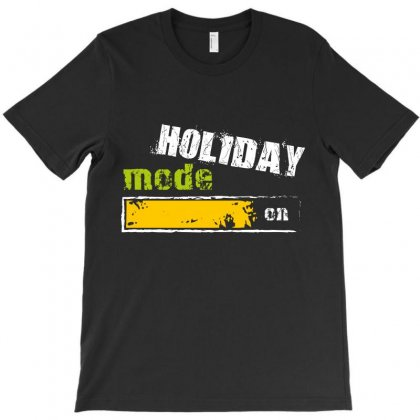 Holiday Mode On T-shirt Designed By Wizarts
