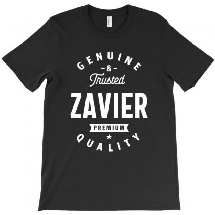 Mens Zavier Genuine And Trusted Funny Gift Name T-shirt Designed By Cidolopez