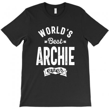 Best Archie Ever Gift Ideas Men's Name T-shirt Designed By Cidolopez