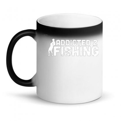 Addicted 2 Fishing Magic Mug Designed By Daraart