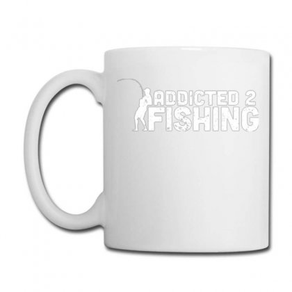 Addicted 2 Fishing Coffee Mug Designed By Daraart