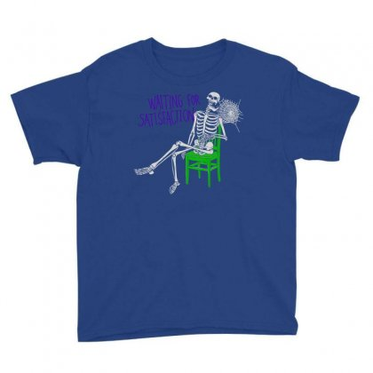 Still Waiting Youth Tee Designed By Artwoman
