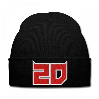 2d Embroidered Knit Cap Designed By Madhatter
