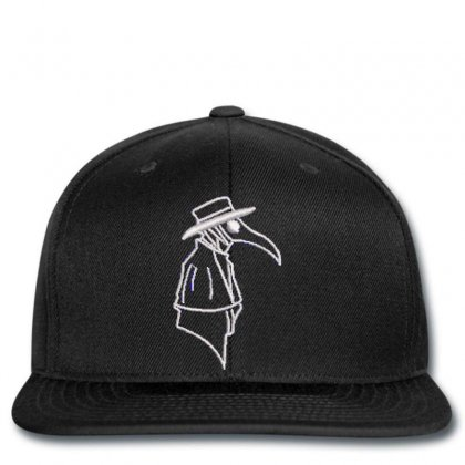 Detective Crow Embroidered Snapback Designed By Madhatter
