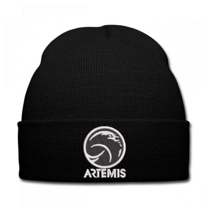 Artemıs Embroidered Knit Cap Designed By Madhatter