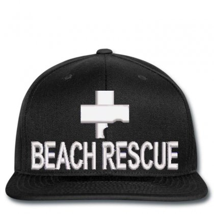 Beach Rescue Embroidered Snapback Designed By Madhatter
