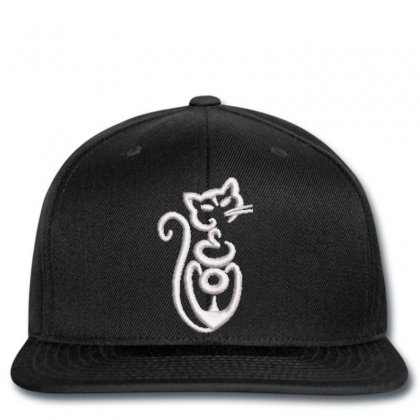Cat Embroidered Snapback Designed By Madhatter