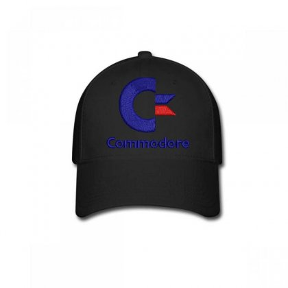 Commodore Embroidered Baseball Cap Designed By Madhatter