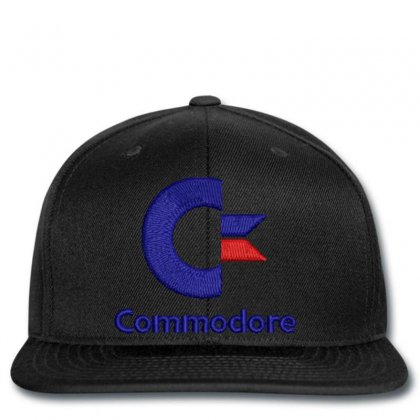 Commodore Embroidered Snapback Designed By Madhatter