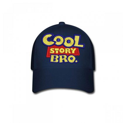 Cool  Story Embroidered Baseball Cap Designed By Madhatter