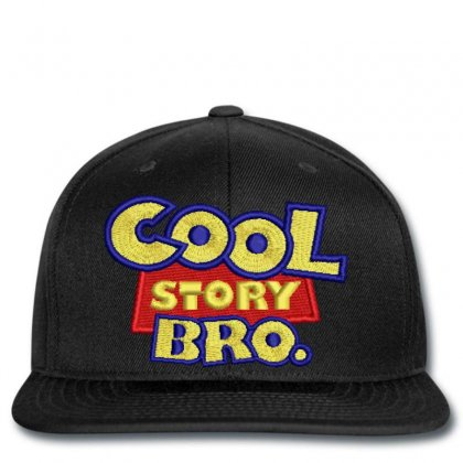 Cool  Story Embroidered Snapback Designed By Madhatter