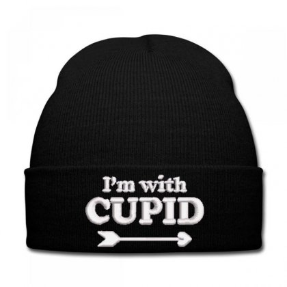 Cupıd Embroidered Knit Cap Designed By Madhatter