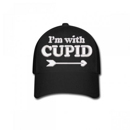 Cupıd Embroidered Baseball Cap Designed By Madhatter