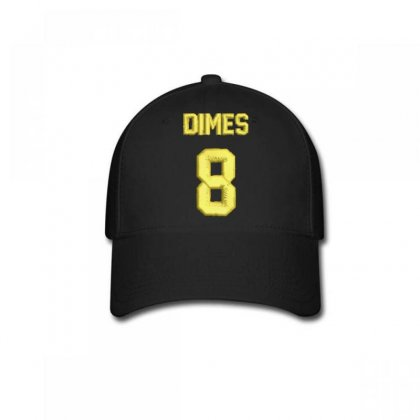 Dımes  8 Embroidered Baseball Cap Designed By Madhatter