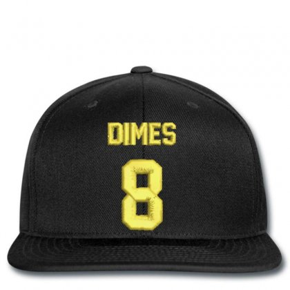 Dımes  8 Embroidered Snapback Designed By Madhatter