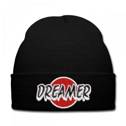 Dreamer Embroidered Knit Cap Designed By Madhatter