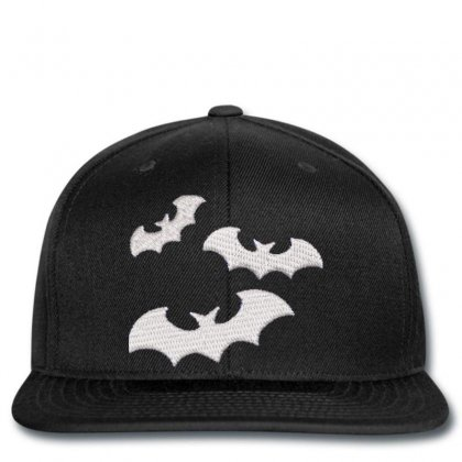 Bats Embroidered Snapback Designed By Madhatter