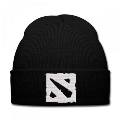 Frame Embroidered Knit Cap Designed By Madhatter