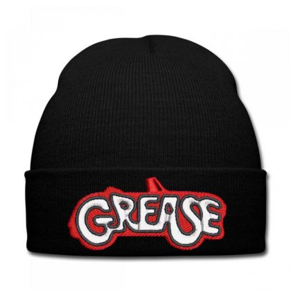Grease Embroidered Knit Cap Designed By Madhatter