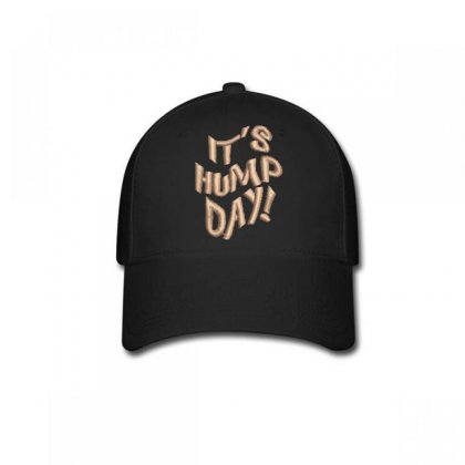 It's Hump Day Embroidered Baseball Cap Designed By Madhatter