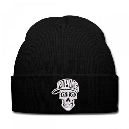 Kupang Embroidered Knit Cap Designed By Madhatter